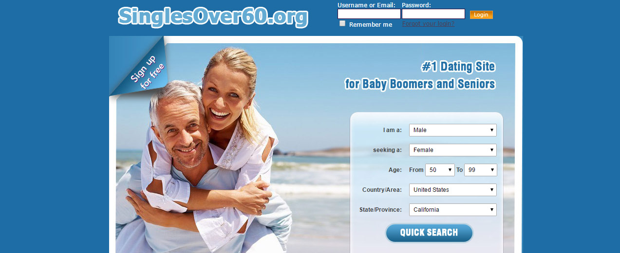 Over 50 or 60 dating sites